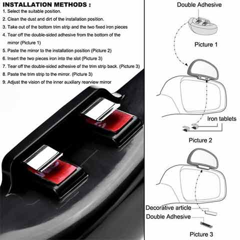 Blind Spot Mirror For Car