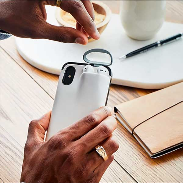 2 In 1 iPhone Airpods Case
