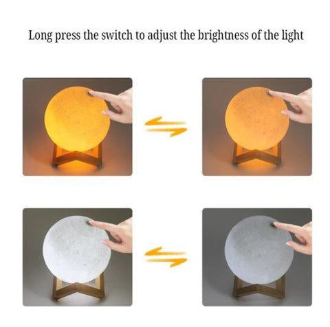 Moon Lamp - Night Light