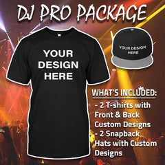 Custom Design - DJ Pro Package (Free Shipping)