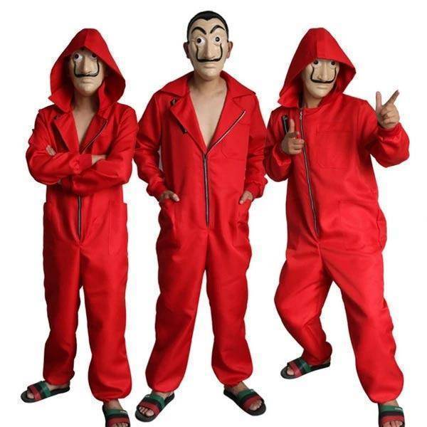 Money Heist Costume - La Casa De Papel Costume