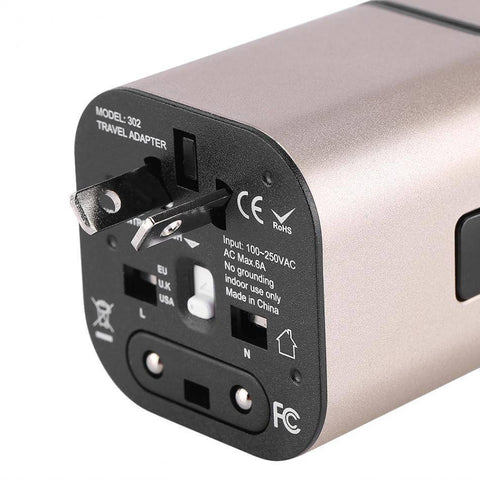 All-in-One Universal International Plug Adapter
