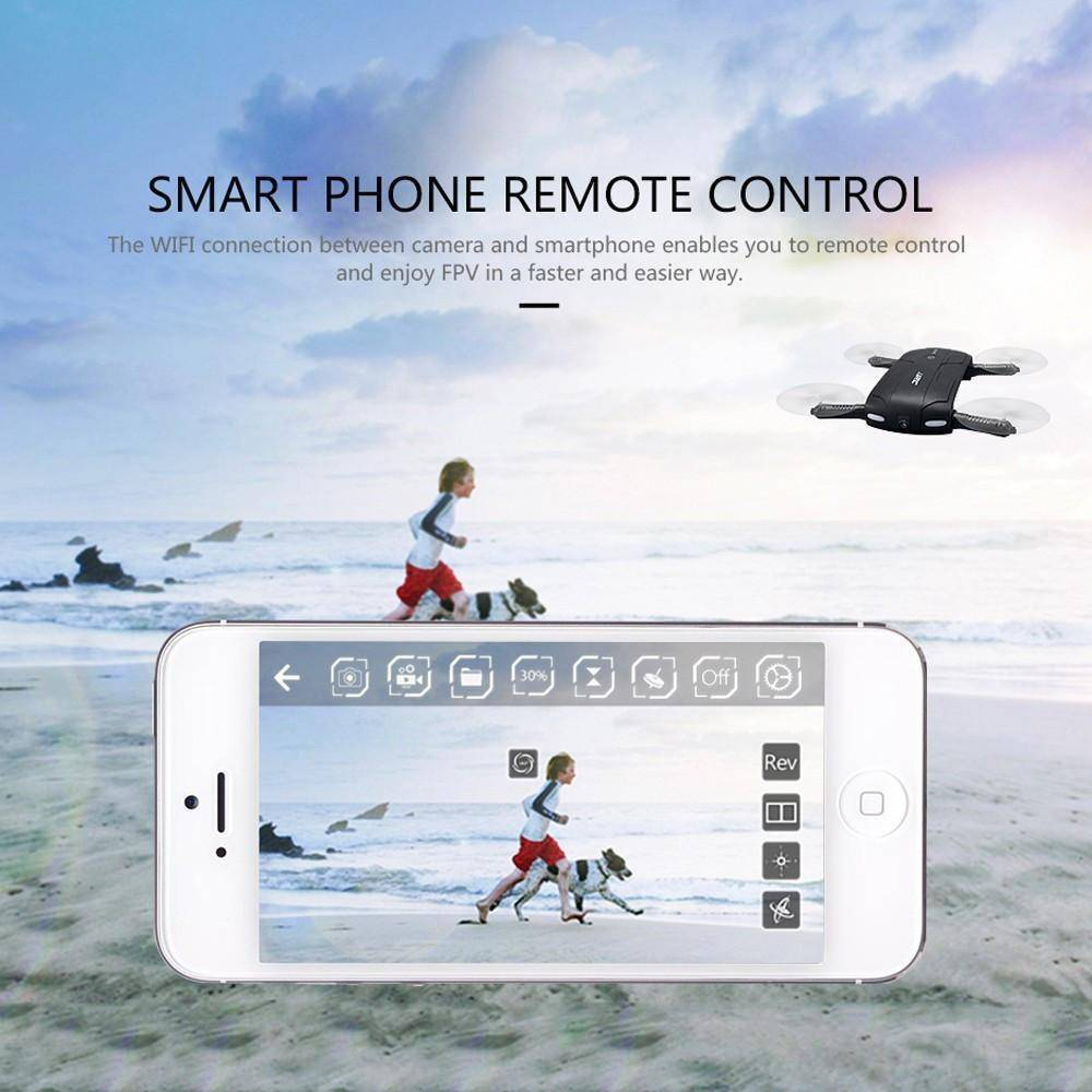 Awesome Pocket-Sized Foldable Drone Controlled By Your Phone