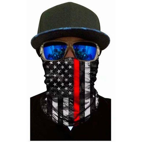American Flag Bandana - Protective Face Shield