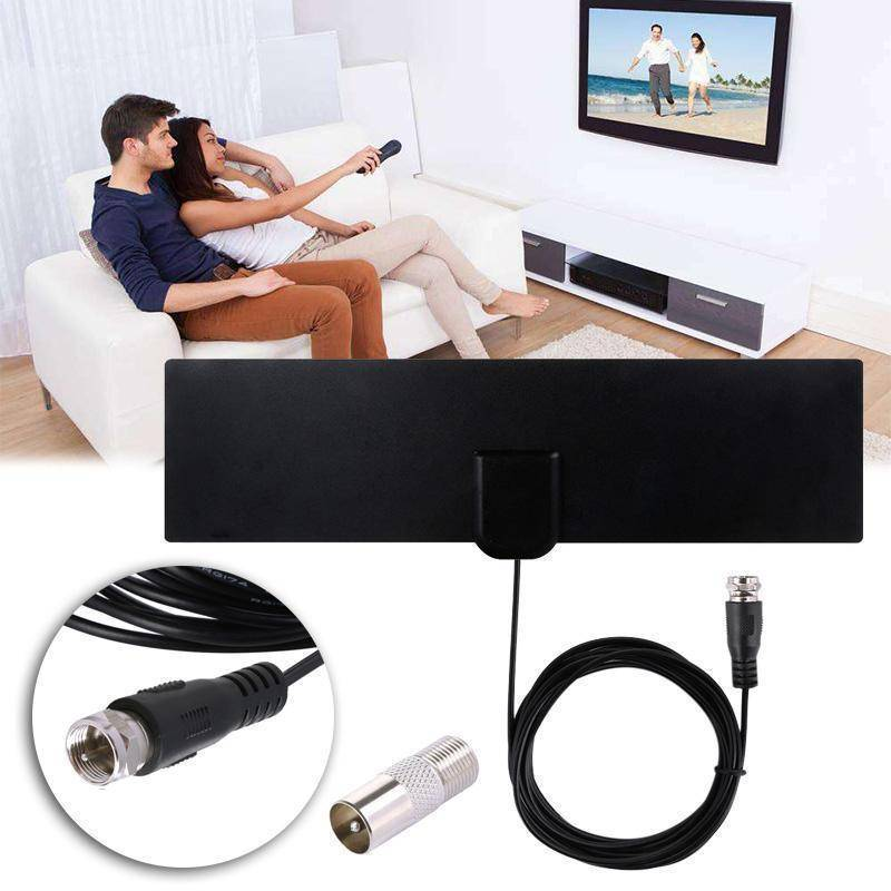HDTV Antenna With Amplifier Signal Booster (Indoor)