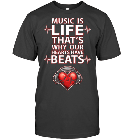 Music Is Life T Shirt - DJ T Shirt