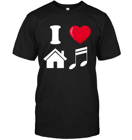 I Heart House Music T Shirt - DJ T Shirt