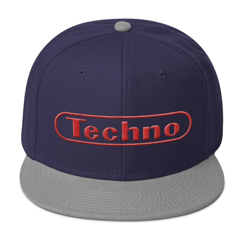 Techno Snapback Hat