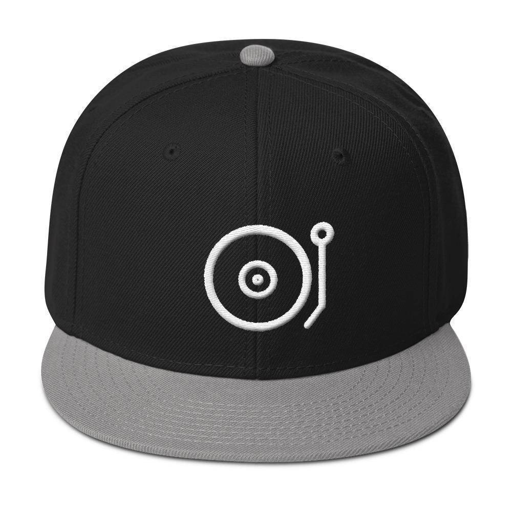 Record Player Snapback Hat