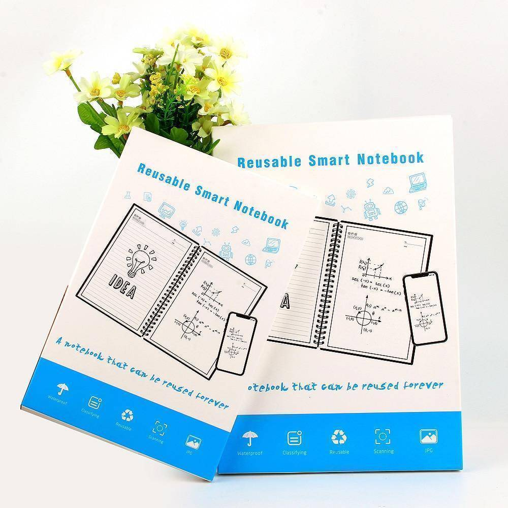 Smart Notebook - Erasable Notebook