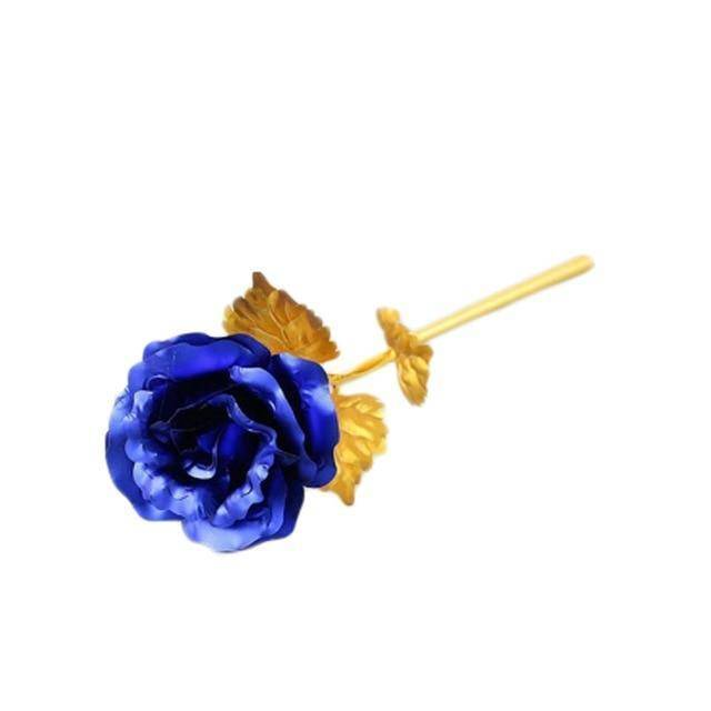 blue golden rose