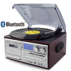 All-In-One Radio, Record, CD, Cassette Player, USB Recorder