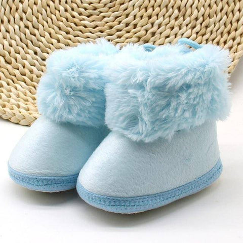 Classic Style Winter Baby Booties