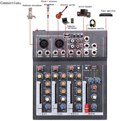 4 Channel Mixer