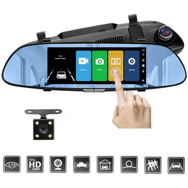 Backup Camera For Car - Rear View Mirror Camera