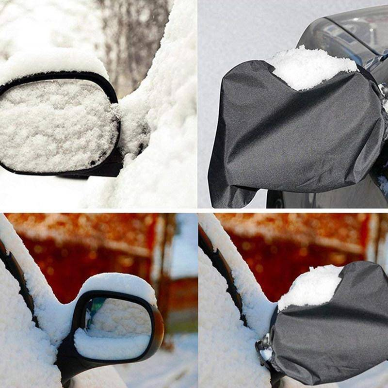 Side Mirror Snow Covers (2Pcs)