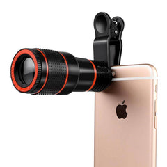 Ultra High-Quality Universal 12X Zoom Telescope Mobile Phone Camera Lens
