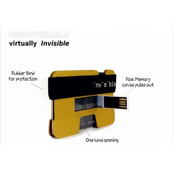 Multi-function Large Capacity USB Slim Wallet