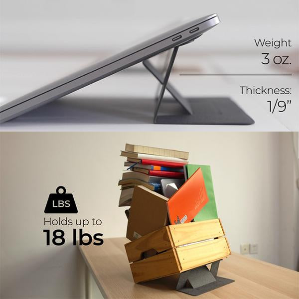 World's First Invisible Laptop Stand-Thinner & More Weight-bearing