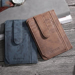 The newest multi-card leather wallet - Comfortable feel