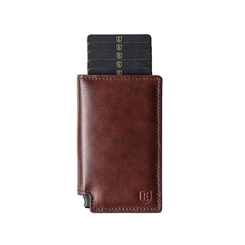 Leather business type card package / wallet - Large capacity