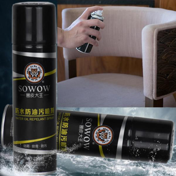 Waterproof / oilproof / anti-fouling spray - No water after use
