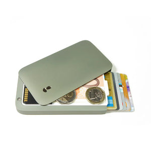 Large-capacity slide pop-up wallet - Store more than 7 cards