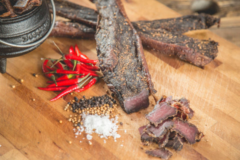 CHILLI BILTONG - PERI BIRDSEYE (MEDIUM HOT)