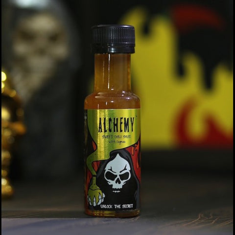 X GRIM REAPER Alchemy™ Sweet Chilli Sauce with Cognac