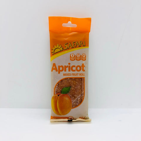 x SAFARI Fruit Roll Apricot