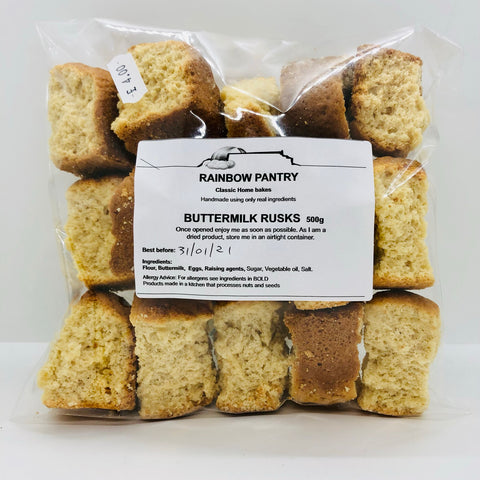 x RAINBOW PANTRY Buttermilk rusks