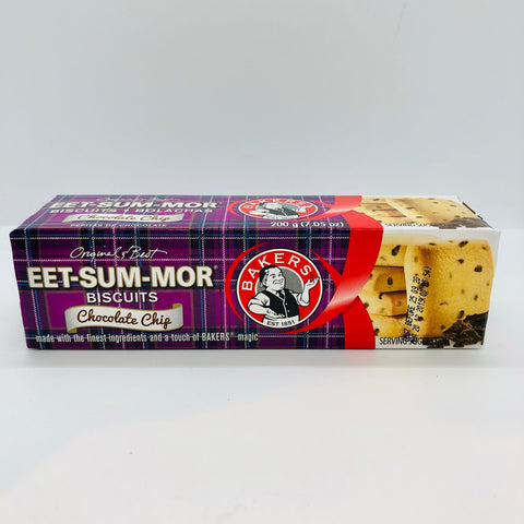 x BAKERS Eet-sum-mor Choc chip
