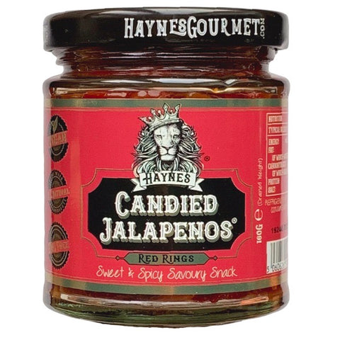 x HAYNES GOURMET Candied Red Jalapenos