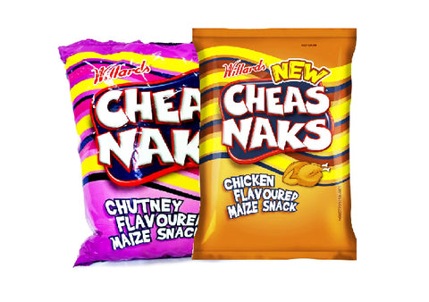 x WILLARDS CHEAS NAKS Chutney flavour