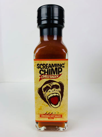 x SCREAMING CHIMP Original Hot Sauce