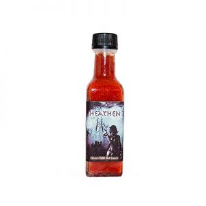 X PRICES SPICES Heathen Chilli Sauce, Ghost Pepper Chilli Sauce 110ML