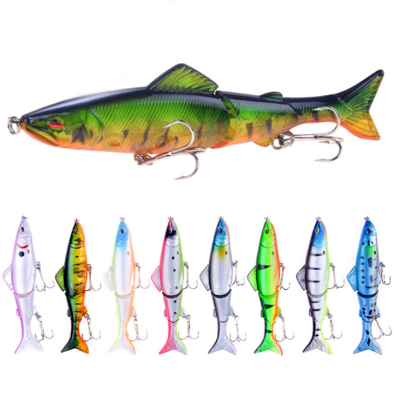 OutdoorCapitol™ Premium 3-Segments Swimming Fishing Lure