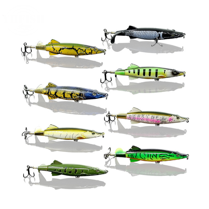 OutdoorCapitol™ New Design Spin Tail Topwater Lure