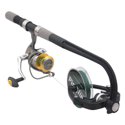 OutdoorCapitol™ Premium Fishing Reel Line Spooler & Winder System
