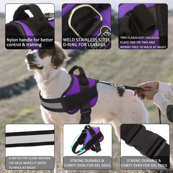 OutdoorCapitol™ No Pull Dog Harness