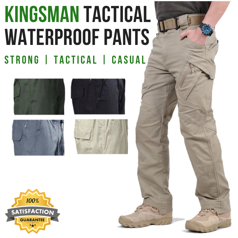 OutdoorCapitol™ Premium Tactical Waterproof Pants