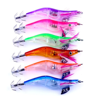 OutdoorCapitol™ Premium Luminous Squid Jig Lure [6PCS]