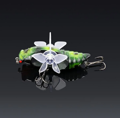 OutdoorCapitol™ Premium Topwater Fishing Dragonfly Lure