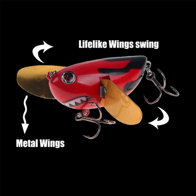 OutdoorCapitol™ Wobbler Topwater Fishing Lure