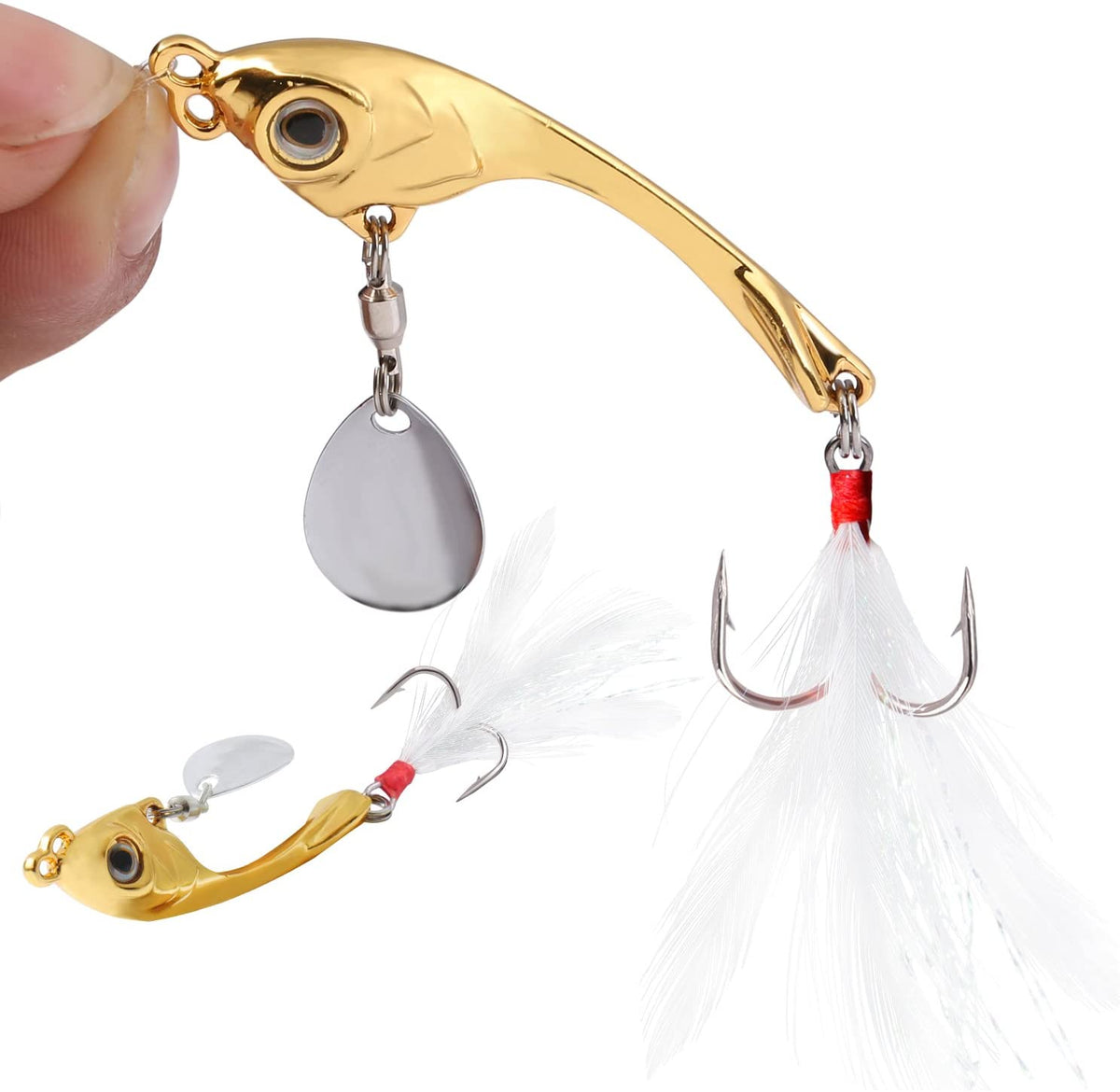 OutdoorCapitol™ Premium Spoons Micro Jigging Fishing Bait