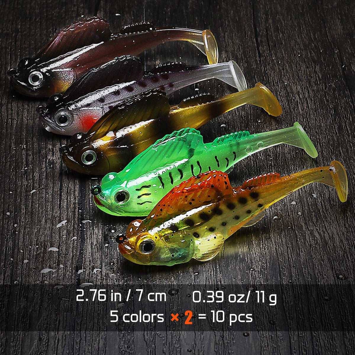 OutdoorCapitol™ Premium Japanese Jumping Fish Fishing Lure [5PCS]