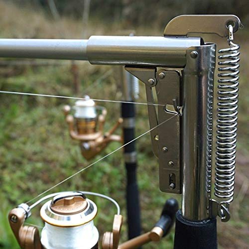 OutdoorCapitol™ Stainless Steel Automatic Fishing Rod