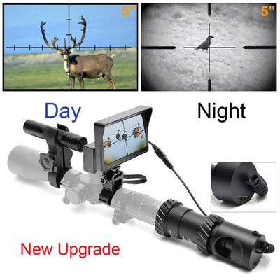 OutdoorCapitol™ Premium DIY Digital Night Vision Scope for Rifle Hunting