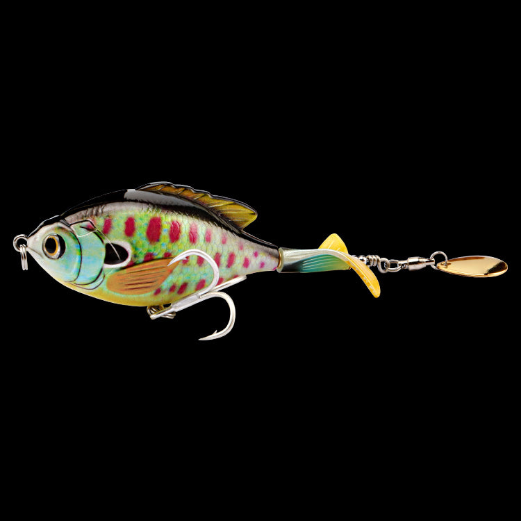 OutdoorCapitol™ Premium Minnow Spinner Fishing Lure