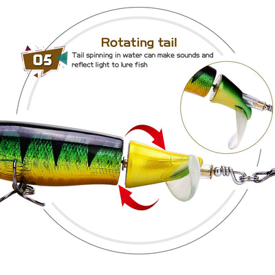 OutdoorCapitol™ Premium Hunter Spin-Tail Lure Series